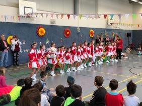 Die Tanzsporttgruppe Söven präsentierte einen tollen Auftritt!