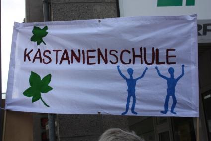 neues Banner Kastanienschule 2019